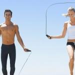 Расход калорий: прыжки на скакалке в течение 15 минут