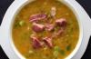Калорийность горохового супа с копченостями: можно ли это блюдо на диете?