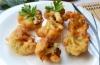 Лучшие идеи диетических гарниров: калорийность цветной капусты в кляре