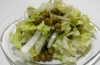 Как приготовить салат из капусты с горошком для похудения: рецепт