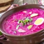 Как приготовить холодный борщ? Калорийность и полезные свойства блюда