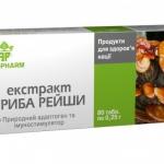 Ганодерма (гриб): показание к применению добавки