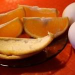 Завтрак 2 яйца и пол-апельсина: меню апельсиново-яичной диеты