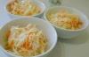 Диетические салаты из овощей: салат из капусты с морковью