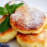 Правильное питание для похудения: калорийность сырников в духовке