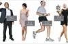 Вычисляем индекс массы тела для женщин