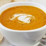 Лучшие блюда с низкой калорийностью: тыквенный суп-пюре