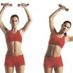 Как похудеть в талии: комплекс упражнений