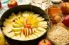 Яблочный пирог низкокалорийный: как приготовить?