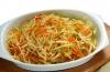 Салат из капусты для похудения: рецепт и калорийность