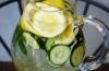 Вода для плоского живота: рецепт