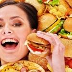 О вреде жирной пищи