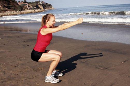 как убрать жир с ляшек видео упражнения