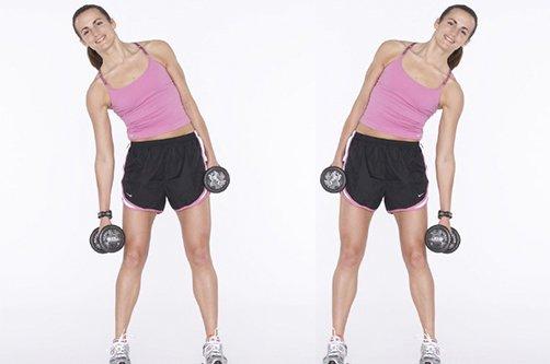 упражнения для талии фото