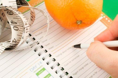 дневник похудения фото