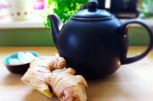 имбирный чая для похудения противопоказания фото