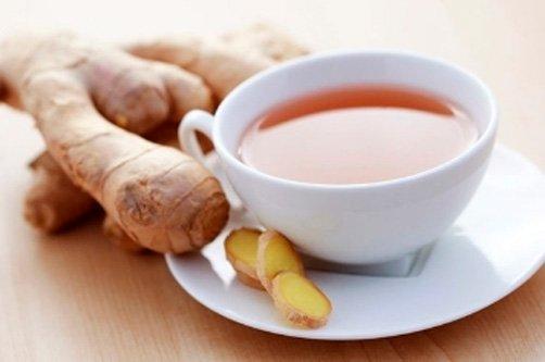 Чай с имбирем в термосе для похудения