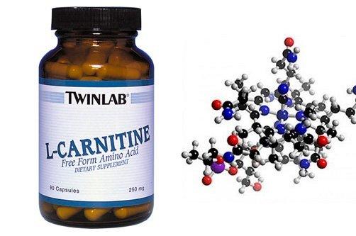 L-карнитин в таблетках фото