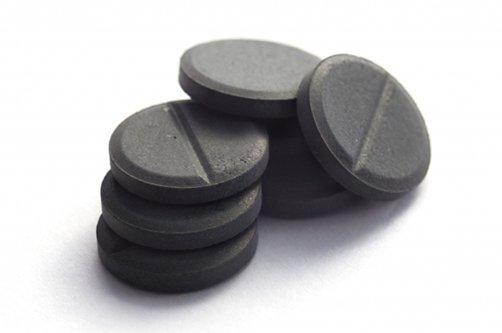 активированный уголь для похудения фото