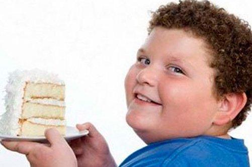 ожирение у детей фото