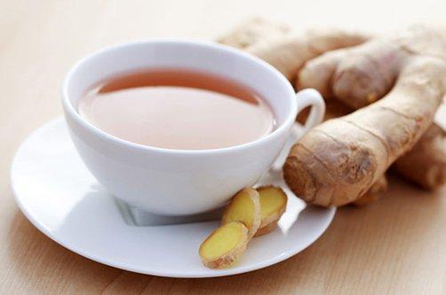 рецепт имбирного чая для похудения фото