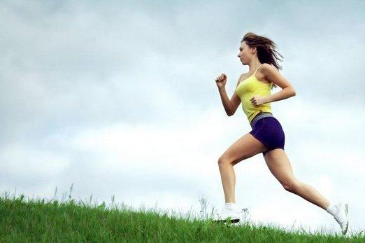 Бег для похудения: таблица фото