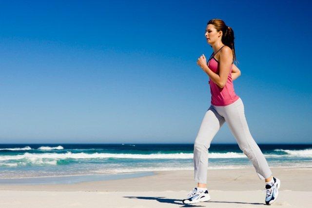правильный бег для сжигания жира на животе