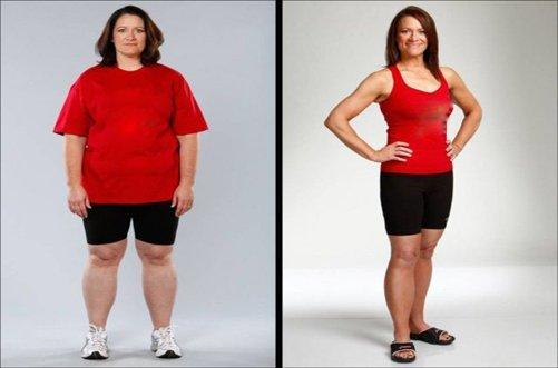 интересная история похудения в фото