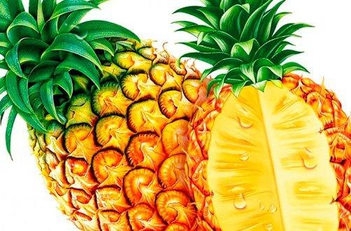 ананас для похудения фото
