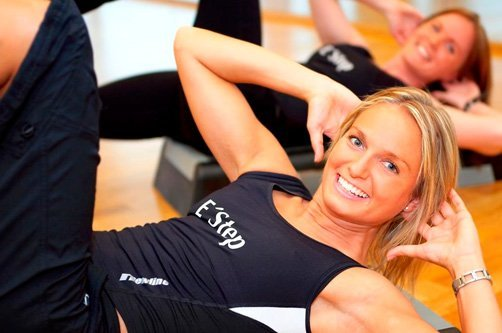 фитнес упражнения для похудения фото