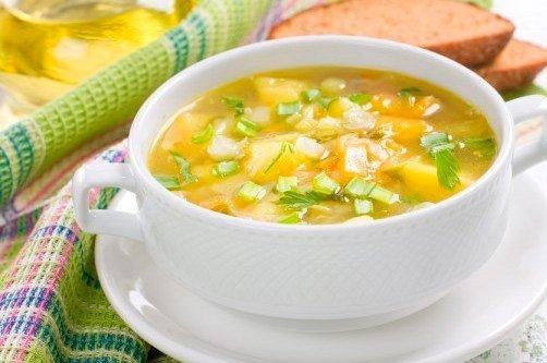 Похудеть с помощью супа