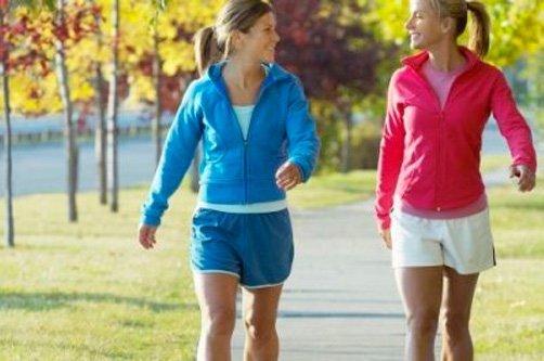 прогулка простые упражнения для похудения фото