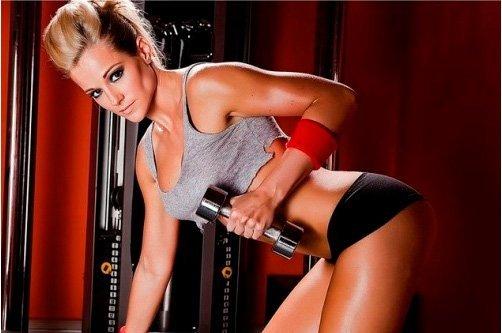 жим силовые упражнения для похудения фото