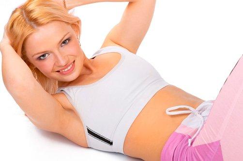 накачать пресс силовыми упражнениями для похудения фото