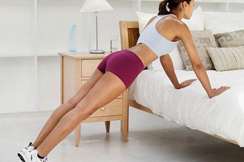 силовые упражнения отжимания для похудения фото