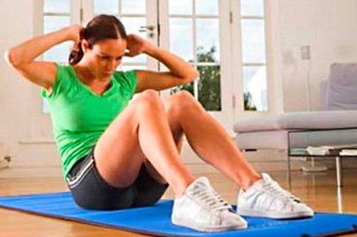 как делать упражнения для быстрого похудения фото