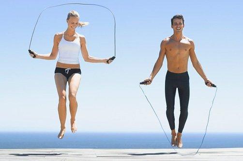какие упражнения сжигают жир на животе видео