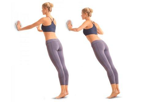 как делать упражнения для похудения икр фото