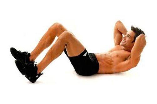 как делать упражнения для похудения живота для мужчин фото