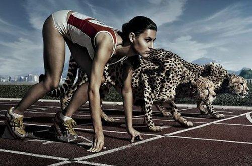 бег для похудения ног фото