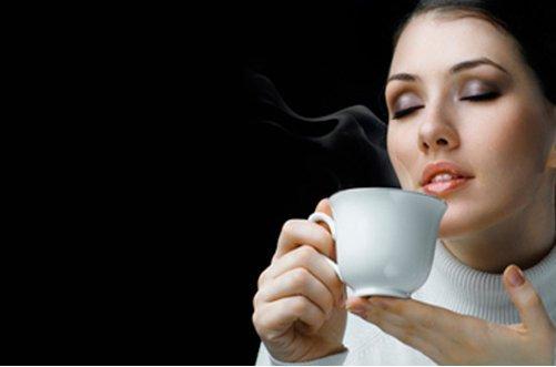 как пить зеленый кофе фото