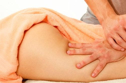 массаж для похудения ног фото