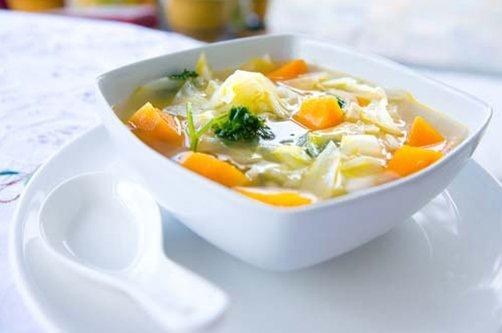 как готовить овощной суп для похудения фото