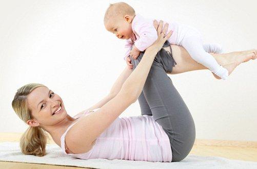 упражнения для похудения после родов фото