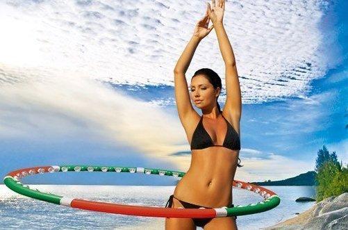 упражнения для похудения с обручем хула хуп