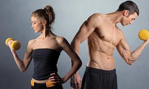 худеют мужчины и женщины