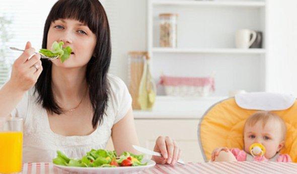 как похудеть если кормишь грудного