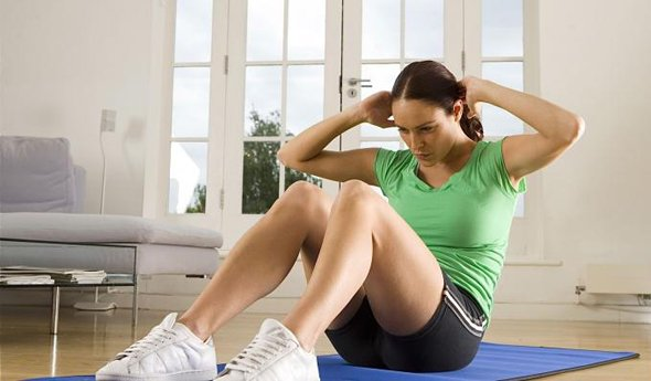Быстрое гимнастика похудения женщине