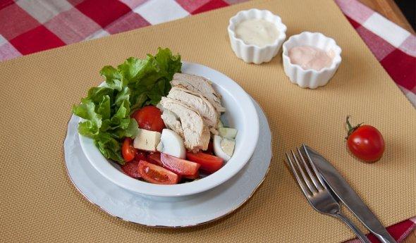 Диетическая куриная грудка - рецепты диетические 9