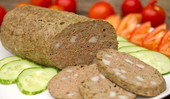 Колбаса из печени с фото